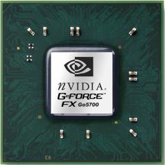 Микросхема NVidia GeFORCE Go5700