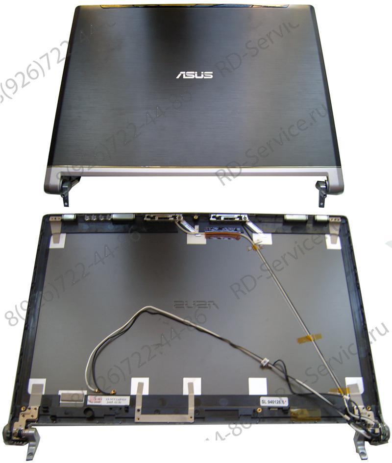 Верхняя крышка матрицы для ноутбука Asus W3 Cover