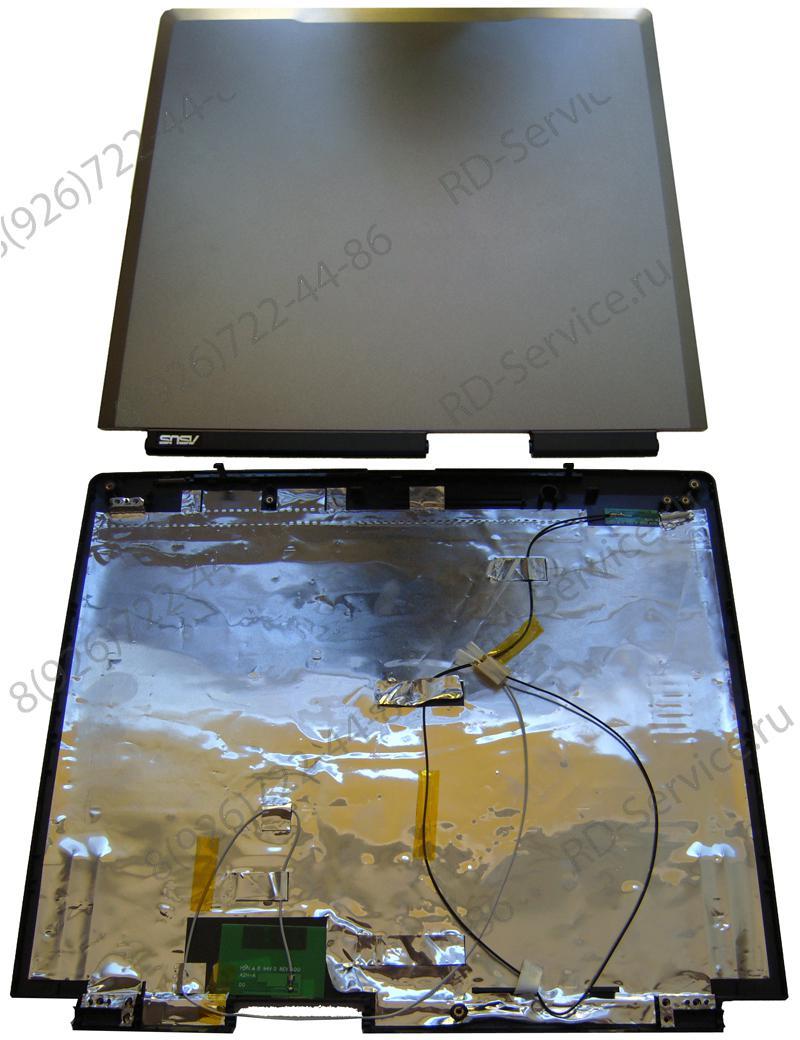 Верхняя крышка матрицы для ноутбука Asus A3 Cover б/у.
