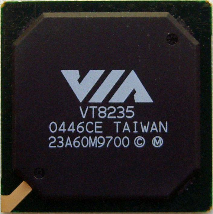 Микросхема для ноутбуков VIA VT8235 South Bridge (южный мост)