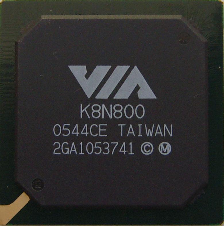 Микросхема для ноутбуков VIA K8N800 (северный мост)