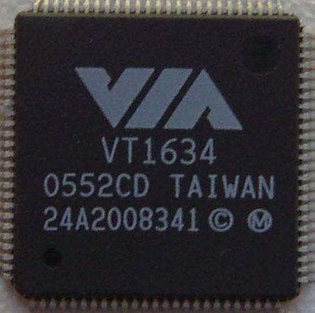 Микросхема для ноутбуков VIA VT1634