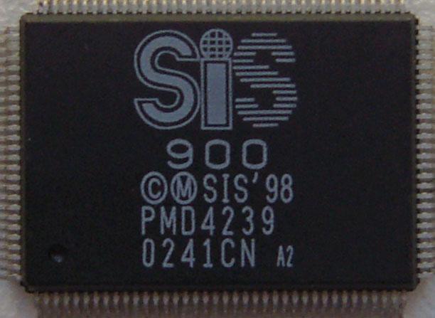 Микросхема для ноутбуков SiS 900