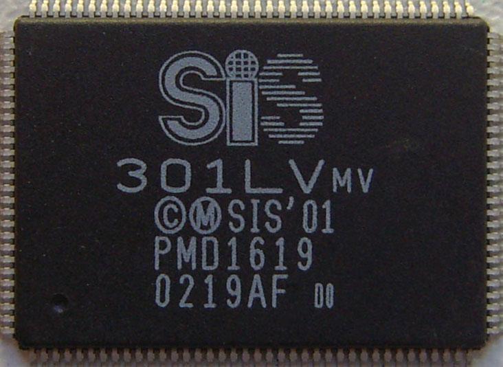 Микросхема для ноутбуков SiS 301LVmv