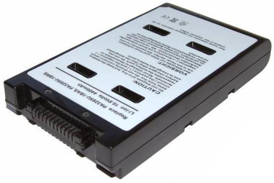 Аккумуляторная батарея для ноутбуков Toshiba Satellite A10, A15, Tecra A1, A7, A8