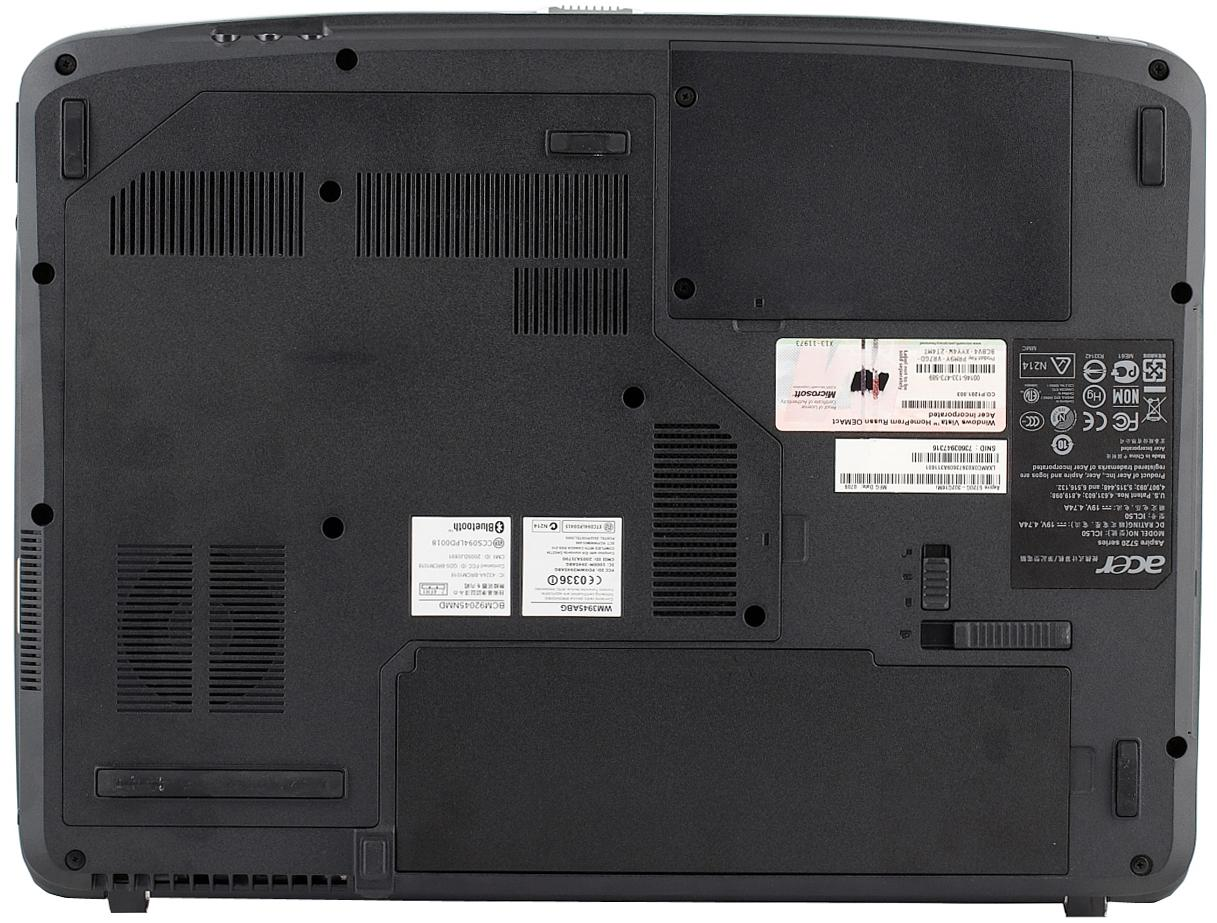 Нижняя часть корпуса для ноутбука Acer Aspire 5720 series BOTTOM CASE
