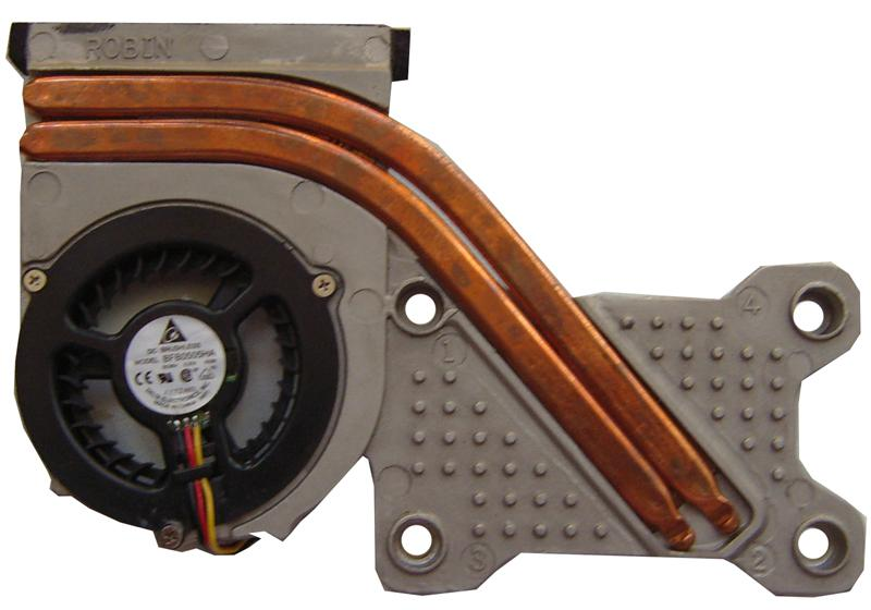 Система охлаждения для ноутбуков MaxSelect, Iru, Rover Brushless BFB0505HA