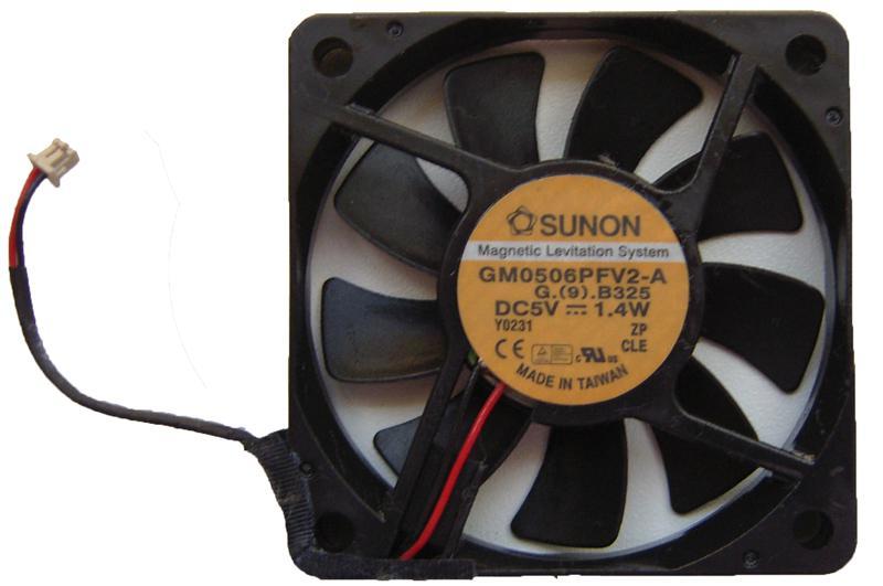 Система охлаждения для ноутбуков MaxSelect, Iru, Rover Sunon GM0506PFV2-A