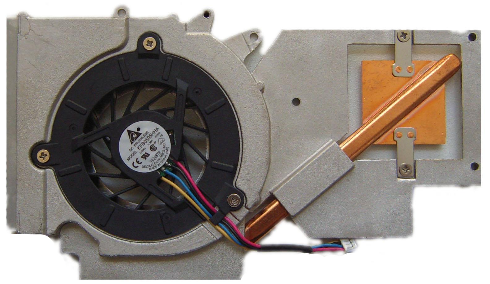Система охлаждения для Asus F3JA/M51SE