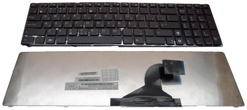 Клавиатура для ноутбука Asus K52 K72 N71 N61 UL50 N53 N73 (348mm ISO)