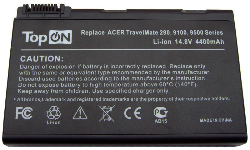 Аккумуляторная батарея для ноутбука Acer Aspire 3100, 3690, 5100 11,1V