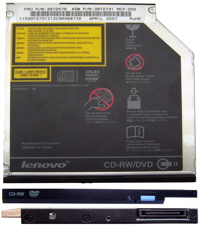 Привод компакт дисков IBM-Lenovo Thinkpad T40-T41-T42-T42p