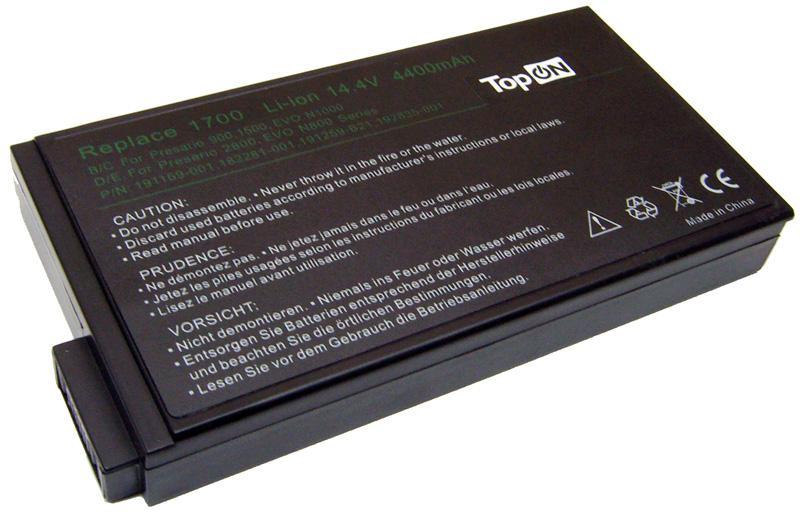 Аккумуляторная батарея для ноутбука Compaq EVO N160, N110, N800, N800c, N800v, N800W, N1000