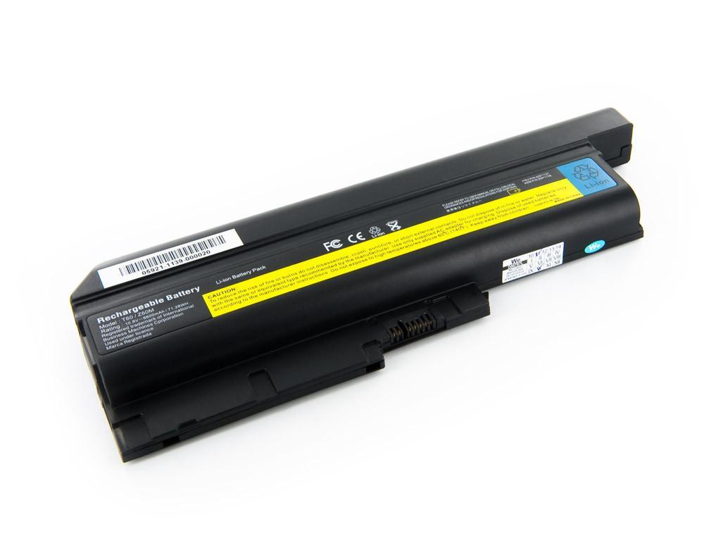 Аккумуляторная батарея для ноутбука IBM-Lenovo ThinkPad T400, T500, T60, T60p, T61, T61p, R500, R60